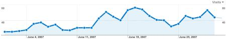 MCW Site Stats June 2007 - Visitors